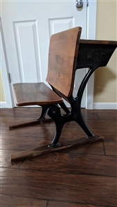 a h antique school desk 87974
